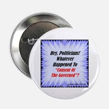 """Consent of the Governed"" 2.25"" Button (10 pack)"