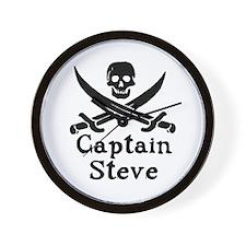 Captain Steve Wall Clock