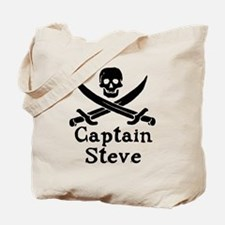 Captain Steve Tote Bag