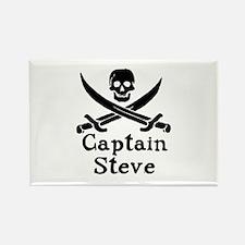 Captain Steve Rectangle Magnet (100 pack)