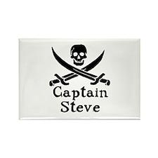 Captain Steve Rectangle Magnet