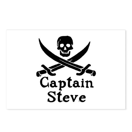 Captain Steve Postcards (Package of 8)