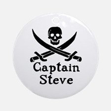 Captain Steve Ornament (Round)