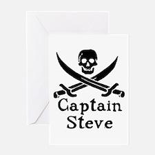 Captain Steve Greeting Card