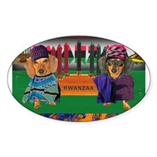 Kwanzza Oval Decal