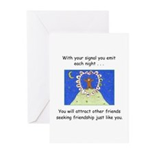New Age Friendship Greeting Cards (Pk of 20)