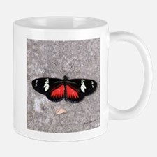 Red and Black Butterfly Mug