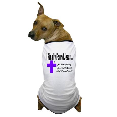 Found Jesus Couch Plain Dog T-Shirt