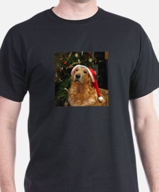 Golden Santa T-Shirt