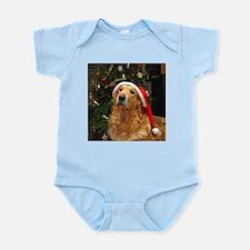 Golden Santa Infant Bodysuit