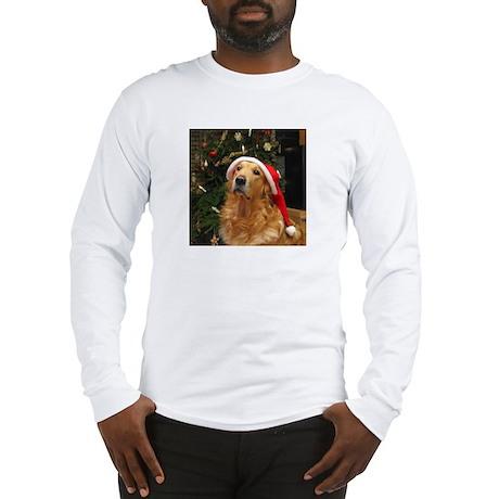 Golden Santa Long Sleeve T-Shirt