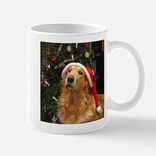 Golden Santa Mug