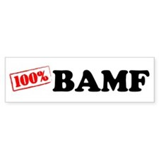 BAMF Bumper Bumper Sticker