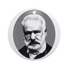 Victor Hugo Ornament (Round)