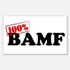 BAMF Rectangle Decal