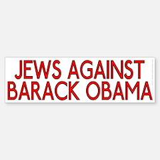 Jews against Barack Obama (bumper sticker)