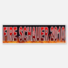 Fire Mark Schauer (sticker)