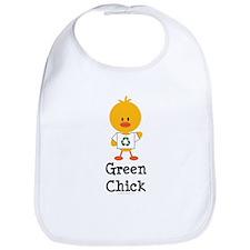 Green Chick Bib
