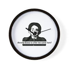 Hugo- the Devil Doll Wall Clock