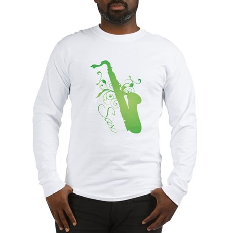 Glo Saxophone Long Sleeve T-Shirt