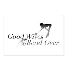 Good Wives Bend Over Postcards (Package of 8)