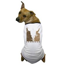 Longhorn Graphic Dog T-Shirt