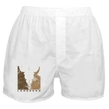 Longhorn Graphic Boxer Shorts