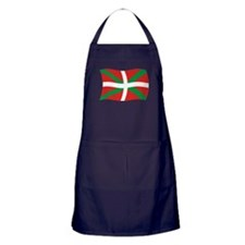Basque People Flag 2 Apron (dark)