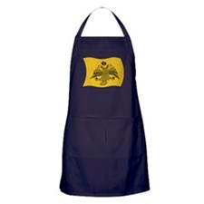 Ecumenical Patriarch Flag Apron (dark)