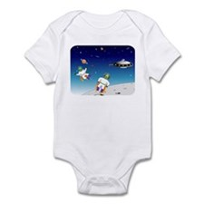 Aliens battle Infant Bodysuit