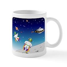 Aliens battle Mug