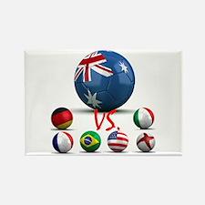 Australia Vs The World Rectangle Magnet