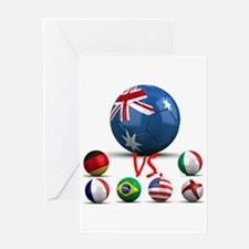 Australia Vs The World Greeting Card