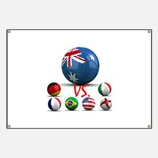 Australia Vs The World Banner