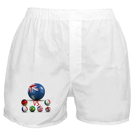 Australia Vs The World Boxer Shorts