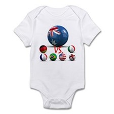 Australia Vs The World Infant Bodysuit