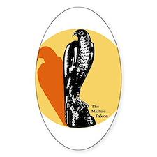 Maltese Falcon Oval Decal