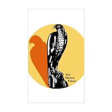 Maltese Falcon Rectangle Decal