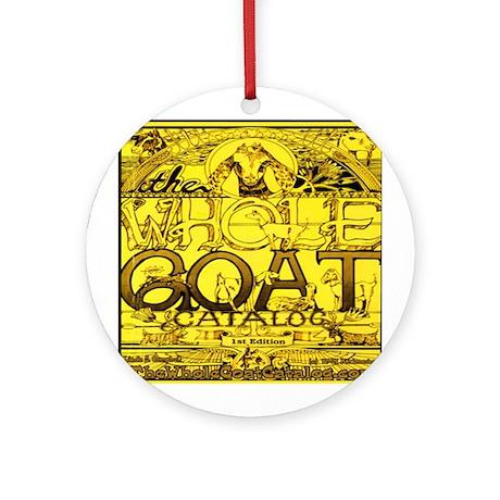 Round OrnamentThe Whole Goat Catalog