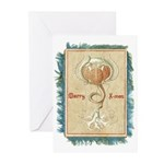 Trachymedusa With Fringe Greeting Cards (Pk of 20)