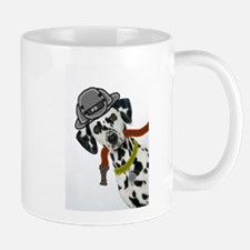 Dalmatian Firefighter Small Small Mug