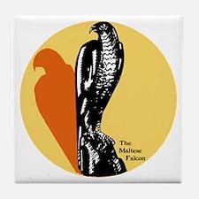 Maltese Falcon Tile Coaster