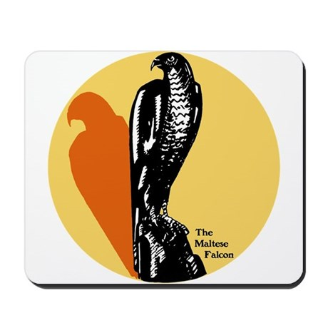 Maltese Falcon Mousepad