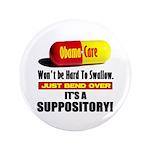 """ObamaCare 3.5"""" Button"""