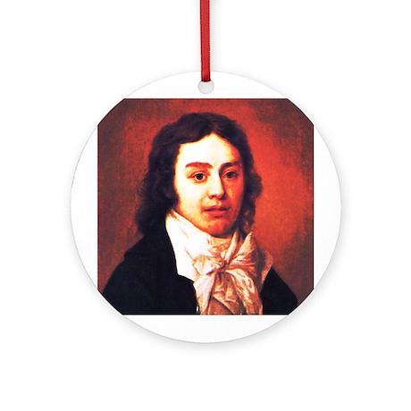 Samuel Taylor Coleridge Ornament (Round)