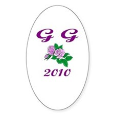 GG-2010-1 Oval Decal