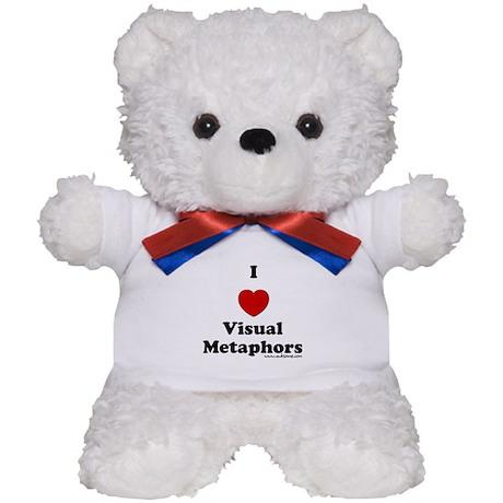 """I heart visual..."" Teddy Bear"