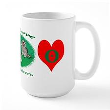 Raccoon New York Mug
