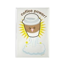 Coffee Power Rectangle Magnet