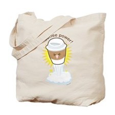 Coffee Power Tote Bag